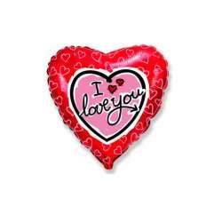 """Сердце """"Я люблю тебя"""" (сердечки)"""