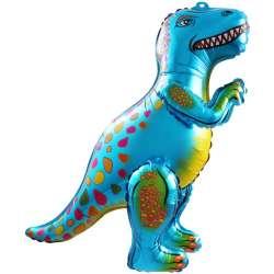 Ходячая Фигура, Динозавр Аллозавр, Синий 64 см