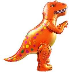 Ходячая Фигура, Динозавр Аллозавр, Оранжевый 64 см