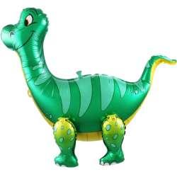 Ходячая Фигура, Динозавр Брахиозавр, Зеленый 64 см