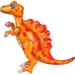 Ходячая Фигура, Динозавр Спинозавр, Оранжевый 76 см