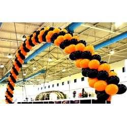 Гирлянда - арка из гелиевых шаров