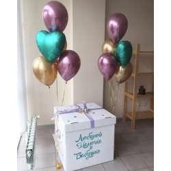 Коробка с шарами № 33