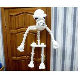Скелет на Halloween