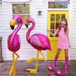Ходячая фигура Фламинго 172 см