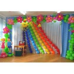 Оформление детского зала № 46