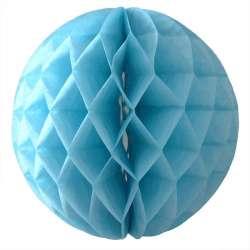 Шар-соты Голубой 30 см