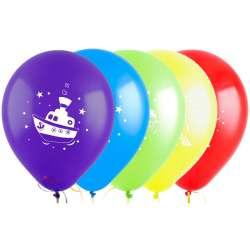 Облако из шаров с рисунком Ассорти для мальчиков, 20 шт.