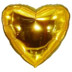 Сердце большое 78 см (Золото)