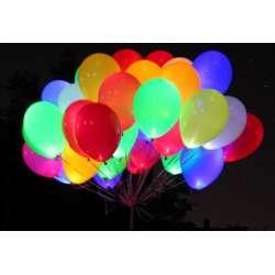 Облако из светящихся шаров 30 шт.
